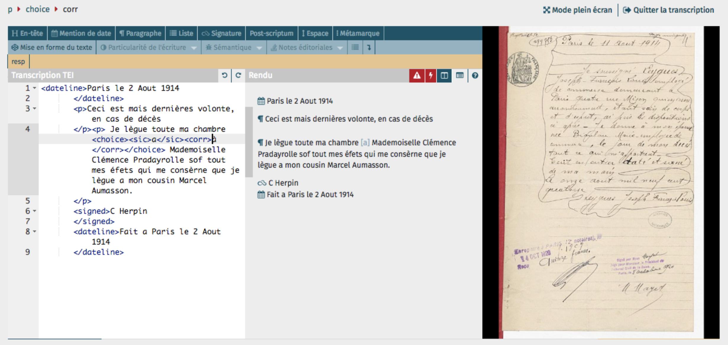 La transcription des écritures manuscrites: notes sur un atelier organisé par le BnF Data Lab